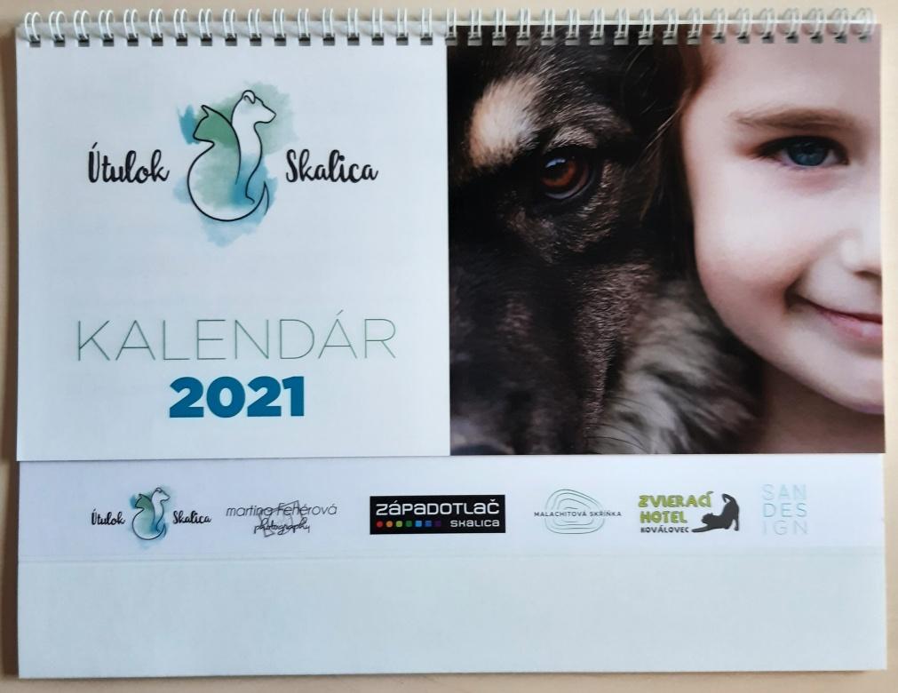 Kalendáře 2020 na podporu útulku