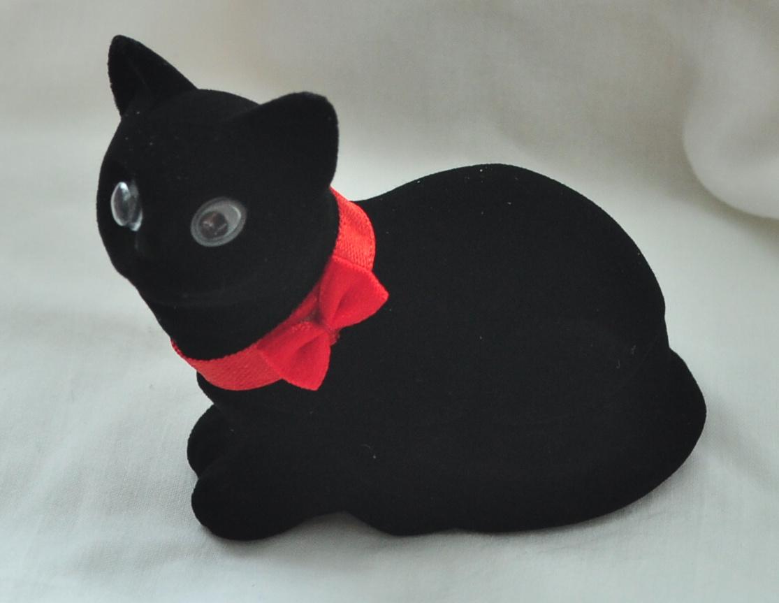 Černá kočička pic